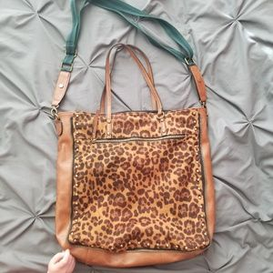 Madden Girl Leopard Print Purse